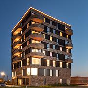 Appartementencomplex Haagwinde Lelystad ontworpen door Zaak van NN architecten en uitgevoerd door Ter Steege Bouw Vastgoed