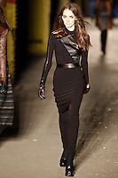 Zuzanna Bijoch walks down runway for F2012 Rag & Bone collection in Mercedes Benz fashion week in New York on Feb 10, 2012 NYC
