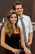 "Amelia Heinle, Greg Rikaart Photocall ""Feux de l'Amour"" Monaco"