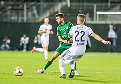 Suljic Asmir of NK Olimpija Ljubljana vs Martin Milec of NK Maribor during football game between NK Olimpija Ljubljana and NK Maribor in Final Round (18/19)  of Pokal Slovenije 2018/19, on 30th of May, 2014 in Arena Z'dezele, Ljubljana, Slovenia. Photo by Matic Ritonja / Sportida