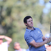 Ryder Cup 2016. Day Three. Rory McIlroy of Europe in action during the Sunday singles competition at  the Ryder Cup tournament at Hazeltine National Golf Club on October 02, 2016 in Chaska, Minnesota.  (Photo by Tim Clayton/Corbis via Getty Images)
