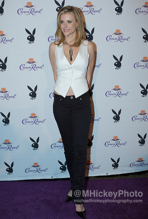 Kristine Lefebvre of The Apprentice at the Kentucky Derby Crown Royal Playboy party in Louisville, Kentucky on May 4 , 2007. Photo by Michael Hickey