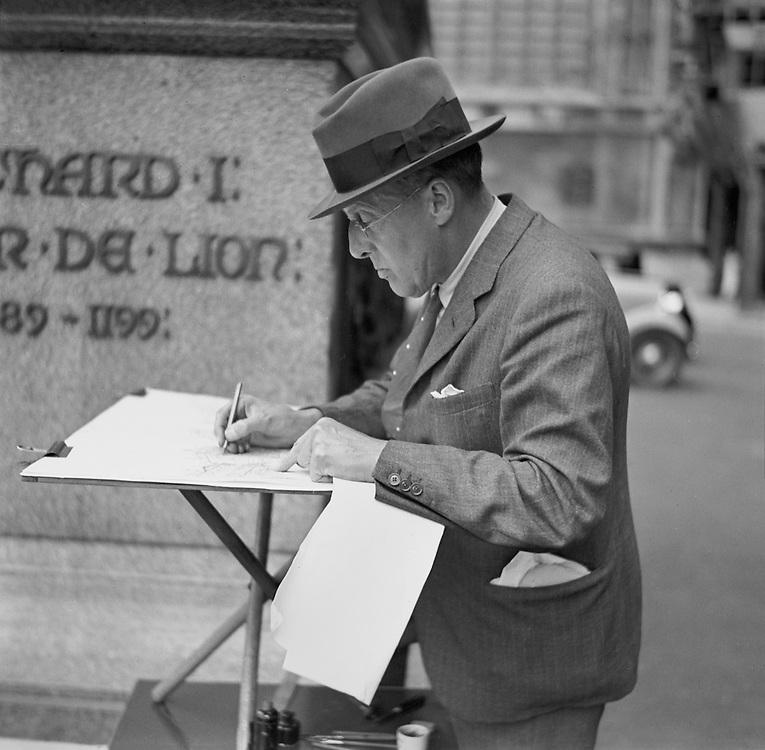 Franship Fletcher, London, 1934