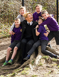 "Pictured: Danny Johnston, Matthew Myddelton, Isla Wilkie, Rodd Hibberd and  Jack Flockhart (pigeon rescuers all aged 11) with Lee Williams, Education Officer.<br /> <br /> The Scottish SPPA launched the education programme at Buckstone Primary School in Edinburgh today. The animal welfare charity's head of education and policy Gilly Mendes Ferreira and Dr Jo Williams, senior lecturer in clinical and health psychology, came along to start the programme at the school. P1 girls held a ""dress up as your favourite animal day"" on Friday and raised £417.50which was presented a cheque to Lee Williams, Education Officer, of the Scottish SPCA.  Isla Wilkie and the boys found a pigeon in the playground trapped between the fence and a neighbours fence. They called the Scottish SPCA (Isla did) as they remembered the phone number from a recent education visit by Scottish SPCA.<br /> <br /> Ger Harley 