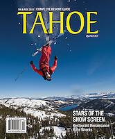 Tahoe Quarterly - 2012 Ski & Ride Cover