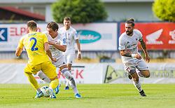 2# Zinic Andraz of NK Domzale during football match between NK Domzale and NK Triglav Kranj in 36. Round of Prva liga Telekom Slovenije 2019/20, on July 22. 2020 in Sport park Domzale, Slovenia. Photo by Urban Meglič / Sportida