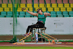 Orla Barry, IRE competing in the F57, Discus at the Berlin 2018 World Para Athletics European Championships