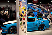 SEMA 2011 in Las Vegas Nevada, an automobile after market show. 12 new BASF Foose Signature Colors.