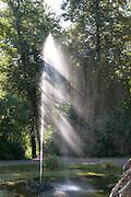 Fontäne, Schlosspark Belvedere, Weimar, Thüringen, Deutschland   fountain, palace park Belvedere, Weimar, Thuringia, Germany