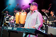 ORLANDO, FL - APRIL 3:  Bruce Johnston of the Beach Boys at Universal Studios on April 3, 2010, in Orlando, Florida. The Beach Boys were performing as part of the Mardi Gras concert series. (Photo by Matt Stroshane/Getty Images) ***Local Caption***Bruce Johnston