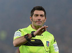 February 3, 2019 - Rome, Italy - Fabio Maresca during the Italian Serie A football match between A.S. Roma and A.C. Milan at the Olympic Stadium in Rome, on february 03, 2019. (Credit Image: © Silvia Lore/NurPhoto via ZUMA Press)