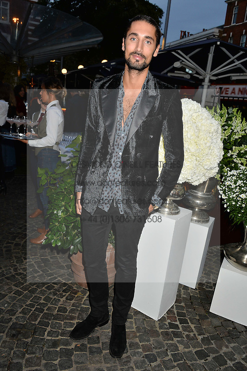 HUGO TAYLOR at the Bluebird's End of Summer Party with Taylor Morris held at Bluebird, 350 King's Road, London on 29th September 2016.