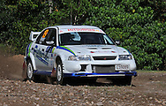 Ryan SMART & Rebecca SMART - Mitsubishi Lancer Evo 6.Media Day/Shakedown.Red Devil Energy Drink Rally of Queensland.Nambour Showgrounds, Nambour, Sunshine Coast, Qld.8th of May 2009.(C) Joel Strickland Photographics.Use information: This image is intended for Editorial use only (e.g. news or commentary, print or electronic). Any commercial or promotional use requires additional clearance.