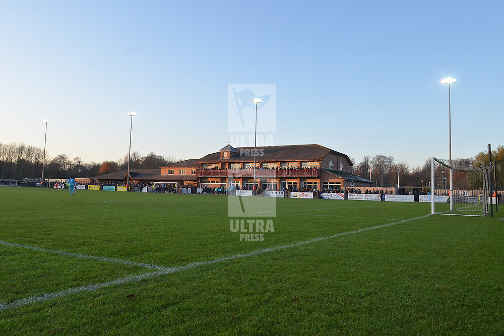 TELFORD COPYRIGHT MIKE SHERIDAN A general view of Blackwell Meadows during the Vanarama Conference North fixture between Darlington and AFC Telford United.<br /> <br /> Picture credit: Mike Sheridan/Ultrapress<br /> <br /> MS201920-033