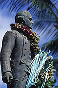 Captain Cook Statue, Waimea, Kauai, Hawaii<br />