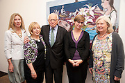 CLARE COOPER; EILEEN COOPER; SIR RONALD GRIERSON; PHOEBE MILES; CLARE SPOTTISWOODE, , ' Showing Off' Exhibition of work by Eileen Cooper. Art First. 21 Eastcastle St. London. W1W 8DD.<br /> <br />  , -DO NOT ARCHIVE-© Copyright Photograph by Dafydd Jones. 248 Clapham Rd. London SW9 0PZ. Tel 0207 820 0771. www.dafjones.com.
