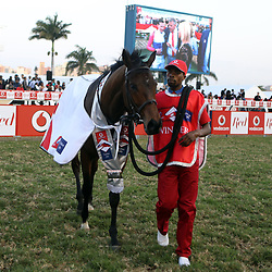 MARINARESCO winner of the July during RACE 7 THE VODACOM DURBAN JULY (Grade 1) - 2200m – R4 250 000 at THE VODACOM DURBAN JULY at Greyville Racecourse in Durban, South Africa on 1st July 2017<br /> Photo by:  Steve Haag Sports