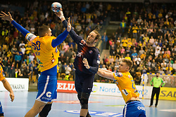 Kim Ekdahl du Rietz  during handball match between RK Celje Pivovarna Lasko (SLO) and Paris Saint-Germain HB (FRA) in VELUX EHF Champions League 2018/19, on February 24, 2019 in Arena Zlatorog, Celje, Slovenia. Photo by Peter Podobnik / Sportida