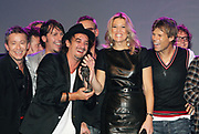 EDISON POP AWARDS 2010 in  het World Trade Center, Rotterdam <br /> <br /> op de foto: Princes Maxima en Dinand Woesthoff