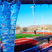 010312  Adron Gardner<br /> <br /> A high temperature of 30 degrees left Icicles cozy in the shade at Public School Stadium in Gallup Thursday.