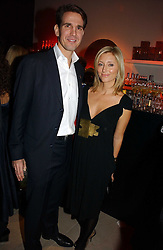 CROWN PRINCE PAVLOS and PRINCESS MARIE CHANTAL OF GREECE at the launch party for Donna Karan's new fragrance Gold held at the Donna Karan store, 19 New Bond Street, London on 16th November 2006.<br />