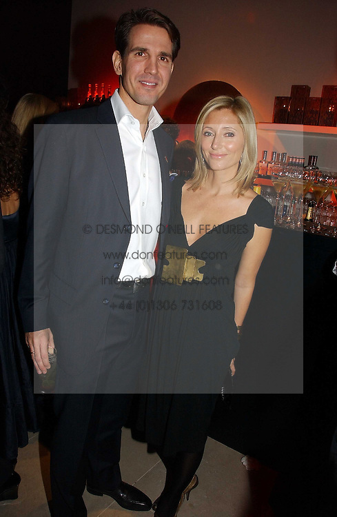 CROWN PRINCE PAVLOS and PRINCESS MARIE CHANTAL OF GREECE at the launch party for Donna Karan's new fragrance Gold held at the Donna Karan store, 19 New Bond Street, London on 16th November 2006.<br /><br />NON EXCLUSIVE - WORLD RIGHTS