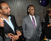 l to r: Don Coleman and Rev. Al Sharpton at The Birthday Celebration for Kelli Coleman held at The Avenue on Decemeber 6, 2009 in New York City