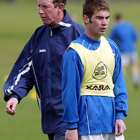 St Johnstone Training..25.04.02   <br />