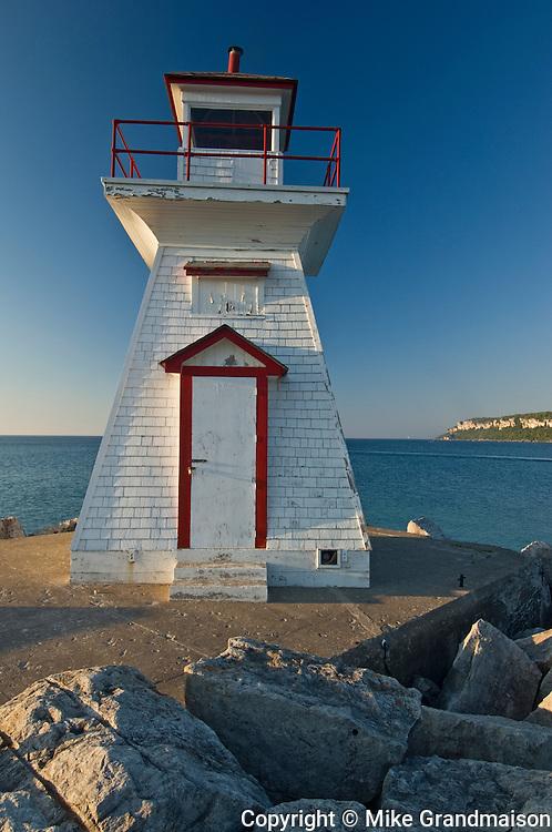 Lighthouse on Georgian Bay<br /> Lions Head<br /> Ontario<br /> Canada