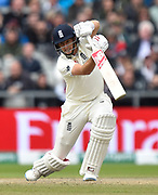 Joe Root of England batting during the International Test Match 2019, fourth test, day three match between England and Australia at Old Trafford, Manchester, England on 6 September 2019.