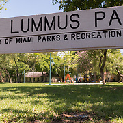 MIAMI, FLORIDA, JUNE 28, 2017<br /> Lummus Park, a city park near  the proposed new soccer stadium planned for the David Beckham group in a nearby parcel in Overtown. <br /> (Photo by Angel Valentin/Freelance)