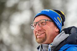 March 9, 2019 - –Stersund, Sweden - 190309 Per Lindius, chef to the Swedish Biathlon team at a press event during the IBU World Championships Biathlon on March 9, 2019 in Östersund..Photo: Petter Arvidson / BILDBYRÃ…N / kod PA / 92249 (Credit Image: © Petter Arvidson/Bildbyran via ZUMA Press)