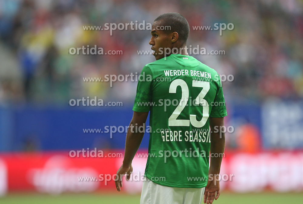 Football: Liga Total Cup 2012, SV Werder Bremen, Hamburg, 05.08.2012.Theodor Gebre Selassie.©Êpixathlon