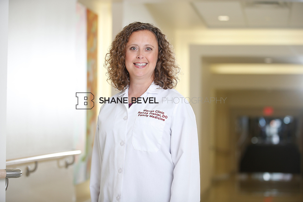 5/28/15 4:05:52 PM -- Dr. Renee Frenier of Saint Francis Health System poses for a portrait for the 2015 Advertising Campaign. <br /> <br /> Photo by Shane Bevel