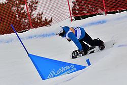 GONZALEZ F. VM, SB-LL1, ESP, Banked Slalom at the WPSB_2019 Para Snowboard World Cup, La Molina, Spain