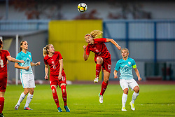 Tereza Kozarova of Czech Republic during football match between Slovenia and Czech Republic in Womens Qualifications for World Championship 2019, on October 20, 2017 in Stadion Domzale, Domzale, Slovenia. Photo by Ziga Zupan / Sportida