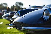 August 14-16, 2012 - Pebble Beach / Monterey Car Week. Ferrari's at the Quail Gathering