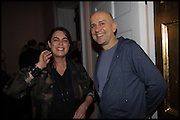 MARC QUINN; MAJA HOFFMANN; James Franco talk and supper at Mansfield St. hosted by Maja Hoffmann. London. 23 November 2014