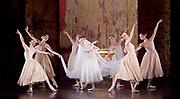 The Birmingham Royal Ballet <br /> Three Short Story Ballets (mixed Bill) <br /> at Birmingham Hippodrome, Birmingham, Great Britain <br /> Rehearsal 21st June 2017 <br /> <br /> Le Baiser de la f&eacute;e <br /> Choreography by Michael Corder<br /> <br /> Music: Igor StravinskyDesigns: John MacfarlaneLighting: Paule Constable<br /> <br /> <br /> <br /> Bride: <br /> <br /> Miki Mizutani <br /> <br /> <br /> <br /> <br /> <br /> <br /> <br /> <br /> Photograph by Elliott Franks <br /> Image licensed to Elliott Franks Photography Services