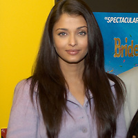 Bradford 8th June 2007 IIFA Bollywood Film Festival super star  Aishwarya Rai at the opening of the Bollywood exibition  and at a red carpet