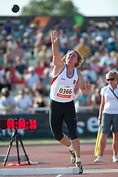 VRATIL Petr, CZE, Shot Put, F38, 2013 IPC Athletics World Championships, Lyon, France