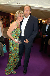 LORD & LADY BRUCE DUNDAS at The Summer Ball in Berkeley Square , Londin W1 in aid of the Prince's Trust on 6th July 2006.<br />