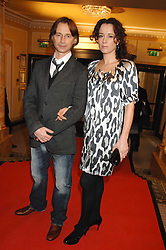 Actor ROBERT CARLYLE and his wife ANASTASIA at the South Bank Show Awards held at The Dorchester, Park Lane, London on 29th January 2008.<br /><br />NON EXCLUSIVE - WORLD RIGHTS