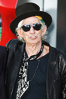 Keith Richards, The Rolling Stones Exhibitionism - Opening Night Gala, Saatchi Gallery, London UK, 04 April 2016, Photo by Brett D. Cove