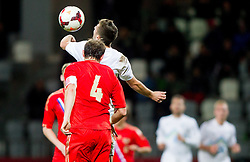 during football match between U21 National Teams of Slovenia and Russia in 6th Round of U21 Euro 2015 Qualifications on November 15, 2013 in Stadium Bonifika, Koper, Slovenia. Russia defeated Slovenia 1-0. Photo by Vid Ponikvar / Sportida
