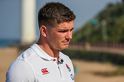 Owen Farrell (captain) of England - Mandatory by-line: Steve Haag/JMP - 14/06/2018 - RUGBY - Hotel Umhlanga - Durban, South Africa - England Rugby Press Conference, South Africa Tour