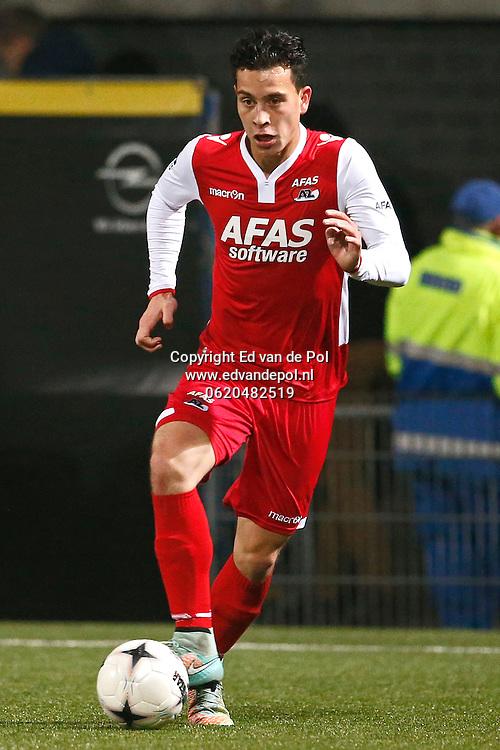 ALKMAAR - 29-11-2014 - Cambuur - AZ,  Cambuur Stadion, 0-2, AZ speler Thom Haye.