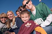 17904Homecoming 2006 10/20/06:  Fotball vs. Buffalo ...Bo Zweidinger, Kathy Zweidinger, Robin Sievers, Olivia Cassidy, Ashley Scheinberg, Sky Sievers, and Becky Kalla