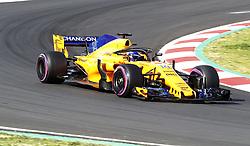 March 9, 2018 - Bracelona, Spain - Fernando Alonso, McLaren..Motorsports: FIA Formula One World Championship 2018, Test in Barcelona, 2018-03-09..(c) JERREVÃ…NG STEFAN  / Aftonbladet / IBL BildbyrÃ¥....* * * EXPRESSEN OUT * * *....AFTONBLADET / 2800 (Credit Image: © JerrevÃ…Ng Stefan/Aftonbladet/IBL via ZUMA Wire)