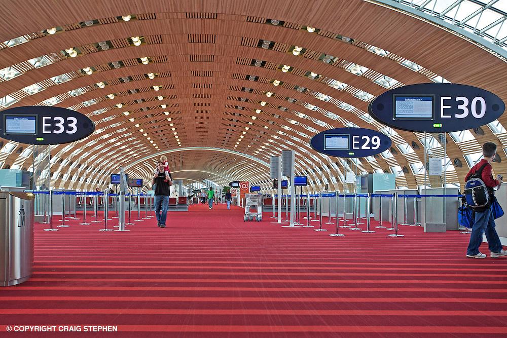 Inside Charles de Gaulle Terminal 2